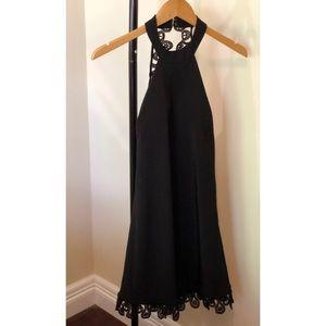 Lulus Little  Black Backless  Dress